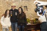 Recepció a Laia Sanz i Marc Torres a Seva