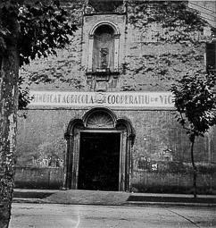 Revolució, guerra i franquisme a Vic Seu del Sindicat Agrícola i Cooperatiu, a l'església de Sant Domènec.