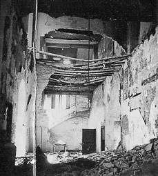 Revolució, guerra i franquisme a Vic Destrucció d'un temple religiós de Vic.
