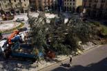 Seguiment de les obres de la plaça Fra Bernadí de Manlleu (1) 30/09/2010