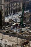 Seguiment de les obres de la plaça Fra Bernadí de Manlleu (4) 25-01-2011