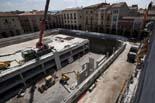 Seguiment de les obres de la plaça Fra Bernadí de Manlleu (6) 27-04-2011