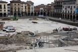 Seguiment de les obres de la plaça Fra Bernadí de Manlleu (7) 08-06-2011