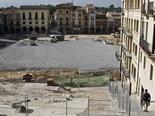 Seguiment de les obres de la plaça Fra Bernadí de Manlleu (7) 25-07-2011