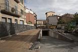 Seguiment de les obres de la plaça Fra Bernadí de Manlleu (8) 28-10-2011