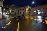 Seguiment de les obres de la plaça Fra Bernadí de Manlleu (8) 14-11-2011