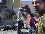 Fotos de Sergi Cámara des d'Haití, per a Osona.com Frontera Haití-República Dominicana.