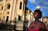 Fotos de Sergi Cámara des d'Haití, per a Osona.com Terratrèmol a Haití. Les restes de la catedral de Puerto Príncipe.
