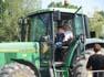 Tibada de tractors a Tona