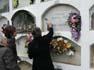 Diada de Tots Sants al Cementiri de Vic