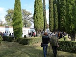 Diada de Tots Sants Cementiri de Gurb. Foto: Josep Maria Costa
