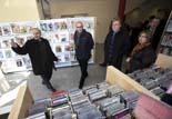 El conseller Francesc Baltesar visita St. Pere de Torelló