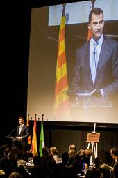 Visita dels prínceps espanyols al Voltraganès