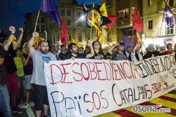 Diada Nacional 2014 a Vic: manifestació de l'Esquerra Independentista