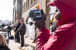 Els treballadors de Marcel Muñoz es manifesten a Vic