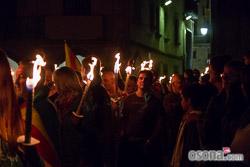 Diada Nacional 2015: Marxa dels Vigatans