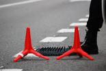 Imatges d'un control de pas dels Mossos d'Esquadra, a Falset Imatge d'un control de pas dels Mossos d'Esquadra a l'atura de Falset (el Priorat)