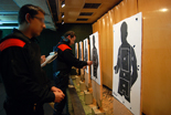 Imatges de la galeria de tir dels Mossos d'Esquadra, a Salou Imatges de la galeria de tir dels Mossos d'Esquadra, a Salou.