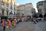 Reus fa un simulacre de la Via Catalana