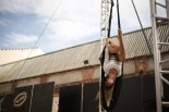 Trapezi | El Covador al pati de l'Institut Baix Camp