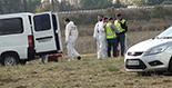 Simulacre d'accident a l'Aeroport de Reus Imatges del simulacre d'AENA a l'Aeroport de Reus. L'unitat criminalística de la Guàrdia Civil.