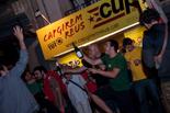 Municipals 2015: celebració de la CUP de Reus