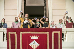 Divendres de Festa Major: pregó i espectacle inaugural
