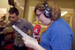 Ple de constitució de l'Ajuntament de Sabadell Professionals en acció.