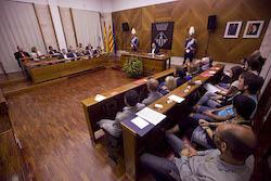 Ple de constitució de l'Ajuntament de Sabadell Sessió plenària.