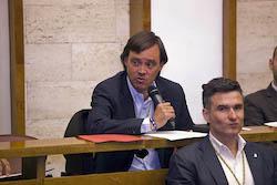 Ple de constitució de l'Ajuntament de Sabadell Esteban Gesa en el seu torn de paraula.
