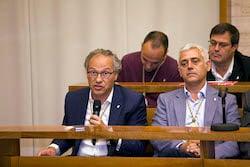 Ple de constitució de l'Ajuntament de Sabadell Carles Rossinyol en el seu torn de paraula.