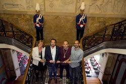 Ple de constitució de l'Ajuntament de Sabadell Responsables.