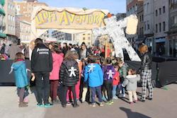 Parc de Nadal de Sants Innocents al Passeig de la Plaça Major.