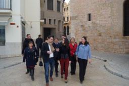 Visita d'Inés Arrimadas a Sitges