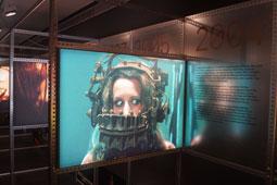 Exposició 50 anys del Festival de Cinema de Sitges a la Filmoteca de Catalunya