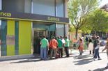 Ocupació de la sucursal de Bankia per membres de la PAH