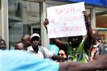 Marxa de protesta senegalesa a Salou