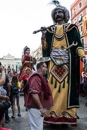 Santa Tecla 2016: Despertada i Arrencada de gegants i Baixada de l'Àliga
