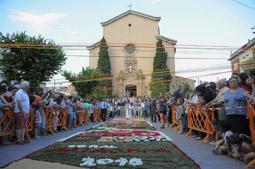 Catifes de Corpus a la Garriga