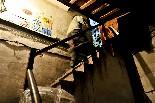 El cinema Alhambra de la Garriga En Miquel Sebastià és el projeccionista del cinema des de fa quatre anys.