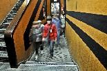 El cinema Alhambra de la Garriga La decoració del cinema és curiosa.