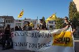 Defensa de l'escola en català i Albert Rivera a la Garriga