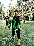 La Mitja 2012 des de la plaça de la Corona