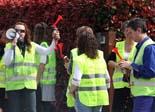 Protesta dels treballadaors de FICOSA