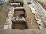 Restes d'una via romana del segle I d. C a La Garriga