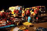 Simulacre d'accident ferroviari a Montmeló