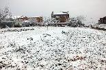 Nevada al Vallès Oriental (febrer 2013) Santa Eulàlia de Ronçana. Autor: David Sáez
