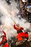 Correfoc de la Festa Major de Blancs i Blaus de Granollers