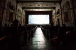 L'interior del Cinema Alhambra de la Garriga