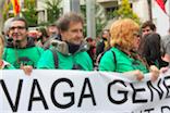 Manifestació vaga general a Granollers